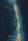 Mapa de Ses Illetes en Formentera
