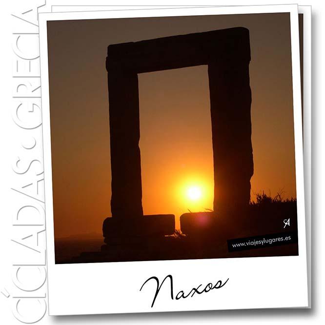 Pórtico de Portara. Naxos