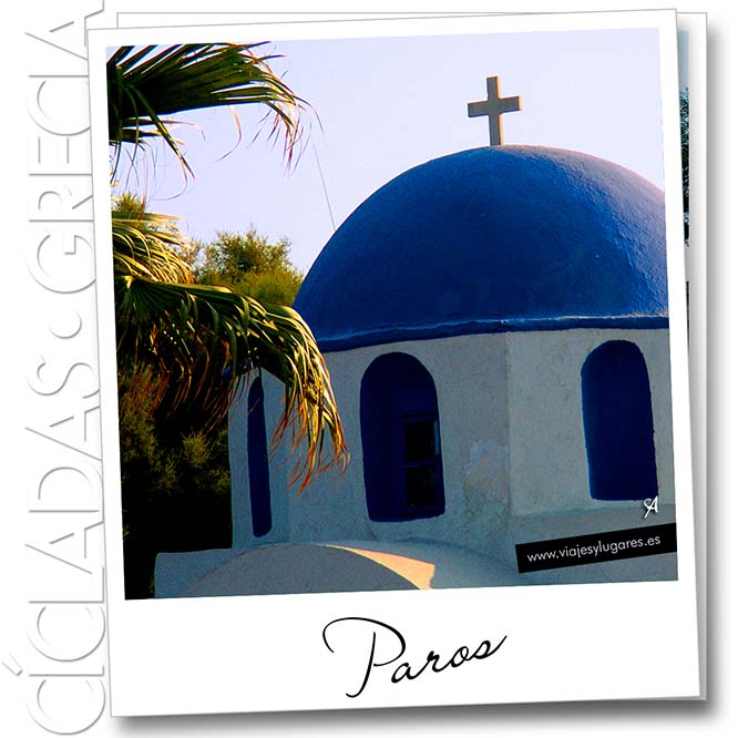 Paros, cúpula de iglesia