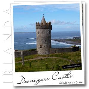 Doonagore Castle. Irlanda
