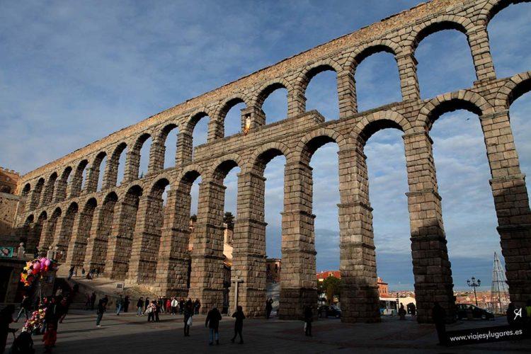 Acueducto romano de Segovia. España
