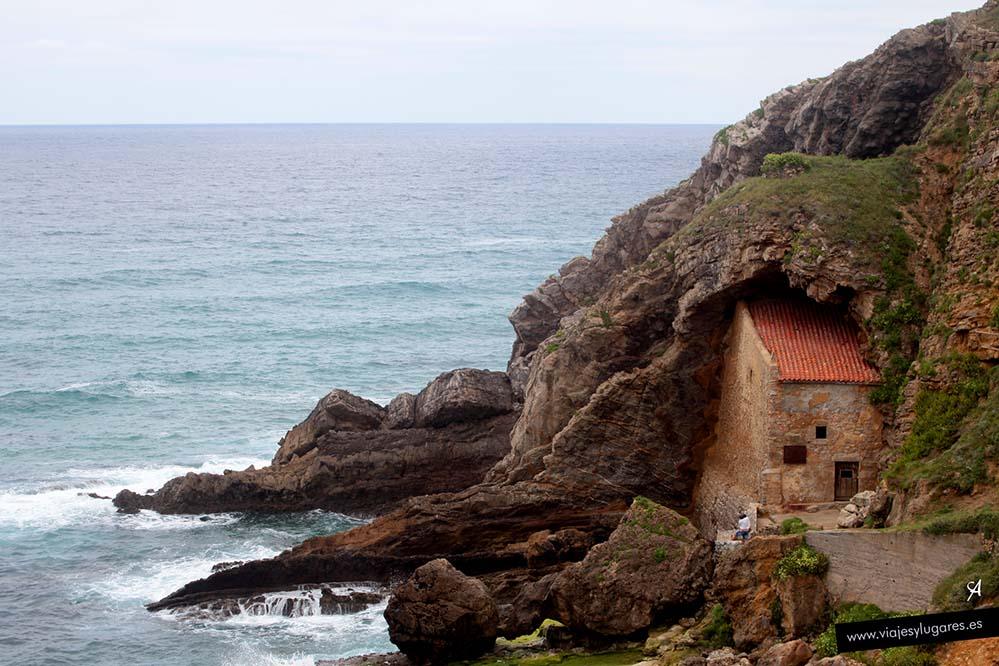 Ubiarco, ermita de Santa Justa
