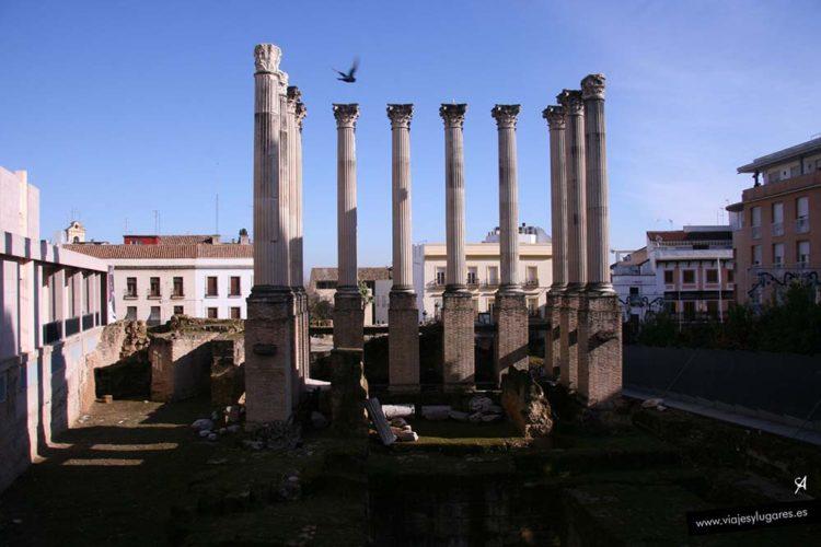 Templo romano en Córdoba