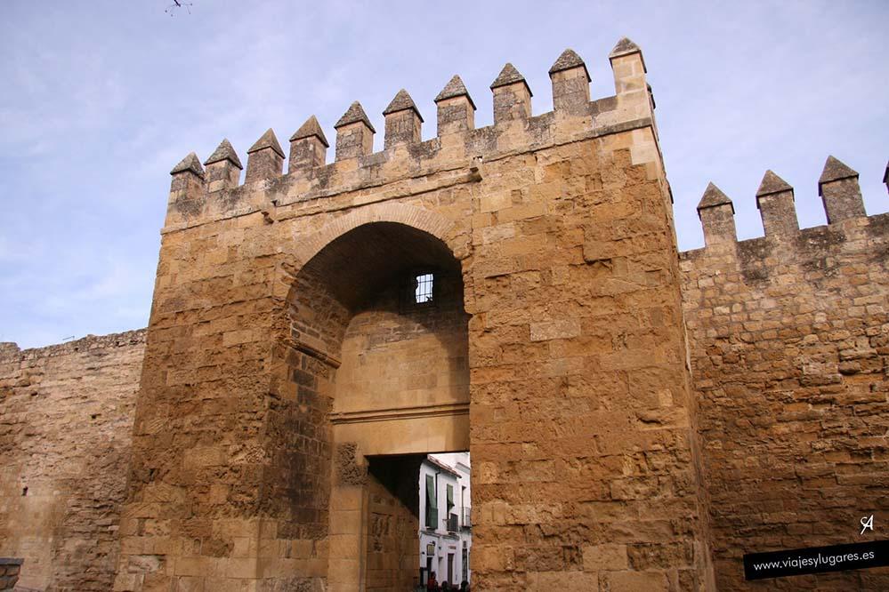 Puerta de Almodóvar en la muralla de Córdoba