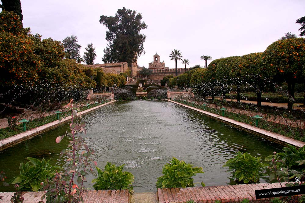 Alcázar de los Reyes Cristianos, Córdoba, Andalucía