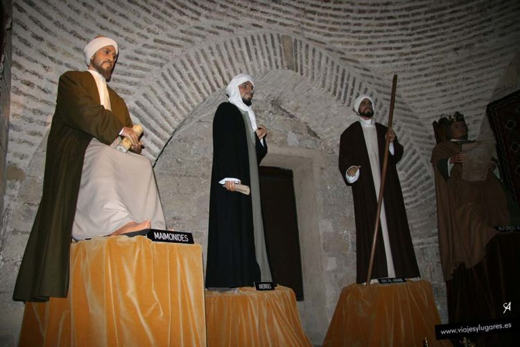 Maimónides en la Torre de Calahorra en Córdoba, Andalucía