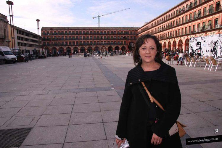 Plaza de la Corredera en Córdoba, Andalucía