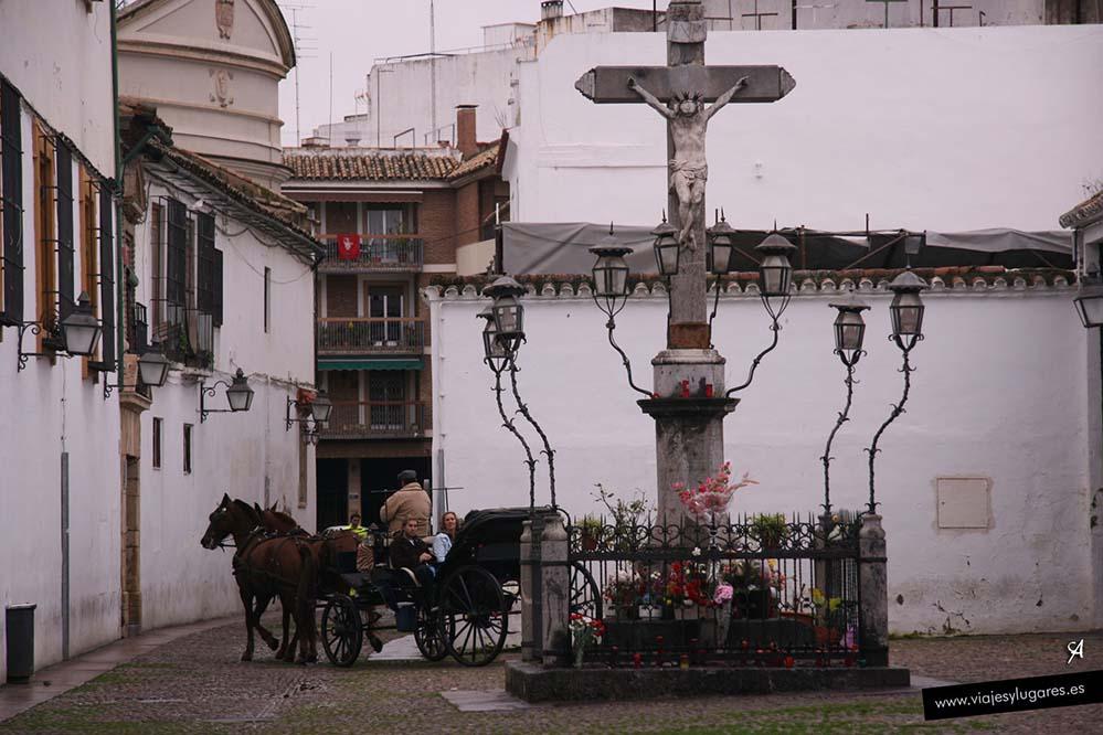 Cristo de los Faroles en Córdoba, Andalucía