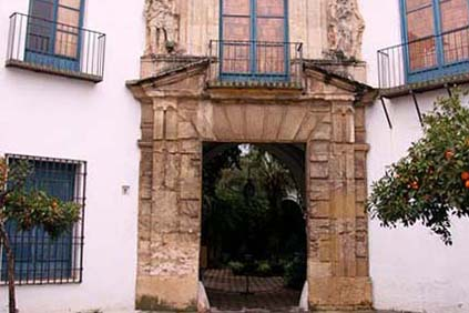 Fachada del Palacio de Viana en Córdoba, Andalucía