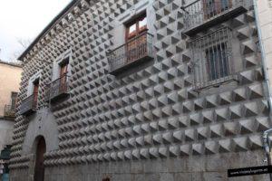 La Casa de los Picos, del siglo XV. Segovia. España