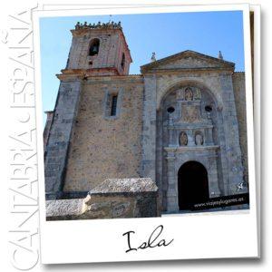Iglesia de Isla, en Cantabria
