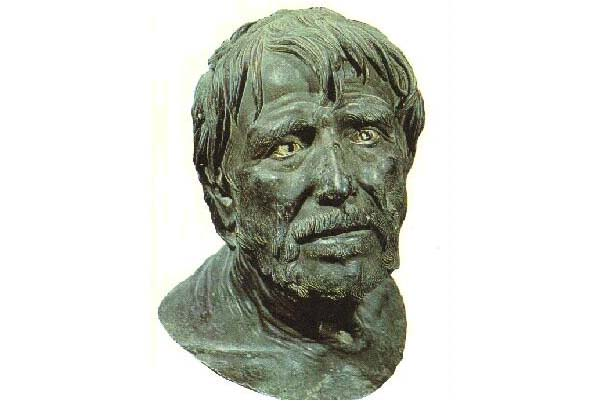 Busto del filósofo Séneca