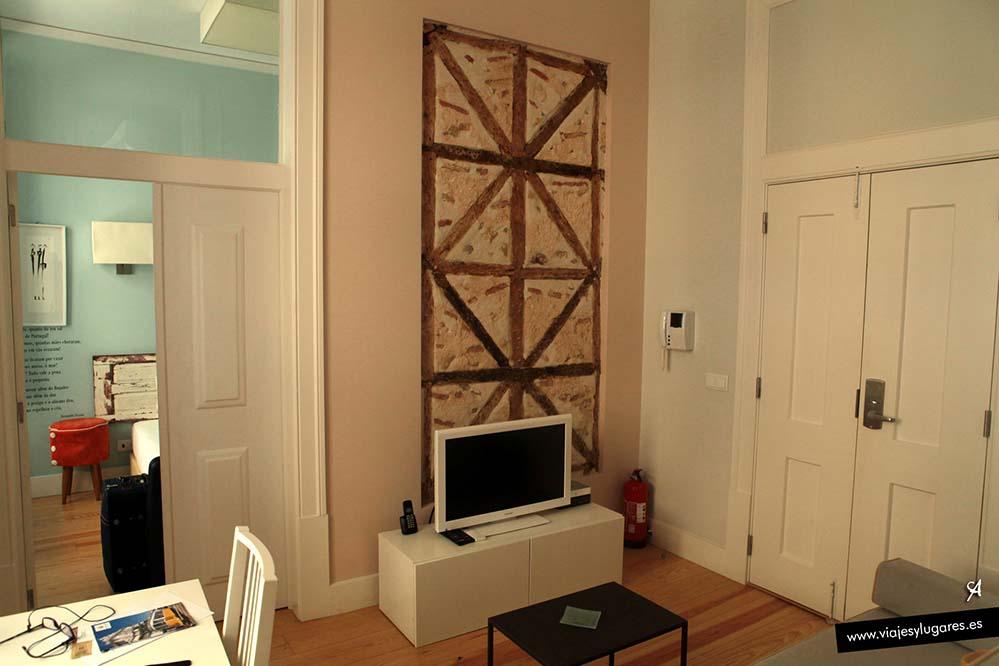El apartamento en Lisboa está genial