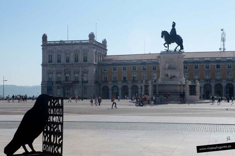 Plaza del Comercio. Lisboa. Portugal