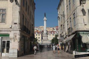 Plaza da Figueira. Lisboa. Portugal