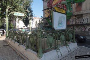 Metro Picoas. Qué visitar en Lisboa: Ruta 3
