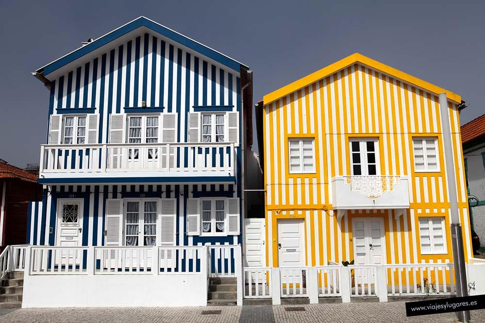 Playas de Barra, Costa Nova y Vagueira