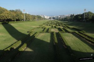 Plaza del Marqués de Pombal. Lisboa. Portugal