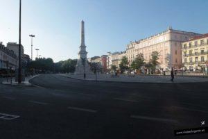 Praça dos Restauradores. Qué visitar en Lisboa: Ruta 3