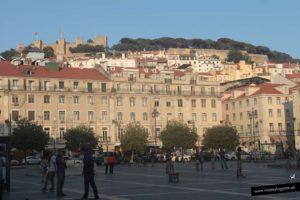 Plaza de Figueira y Castillo de San Jorge. Qué visitar en Lisboa: Ruta 3