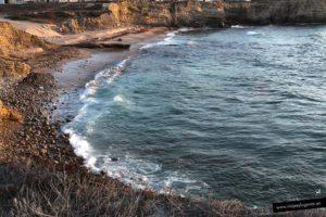 raia do Portinho da Areia do Norte. Peniche. Portugal