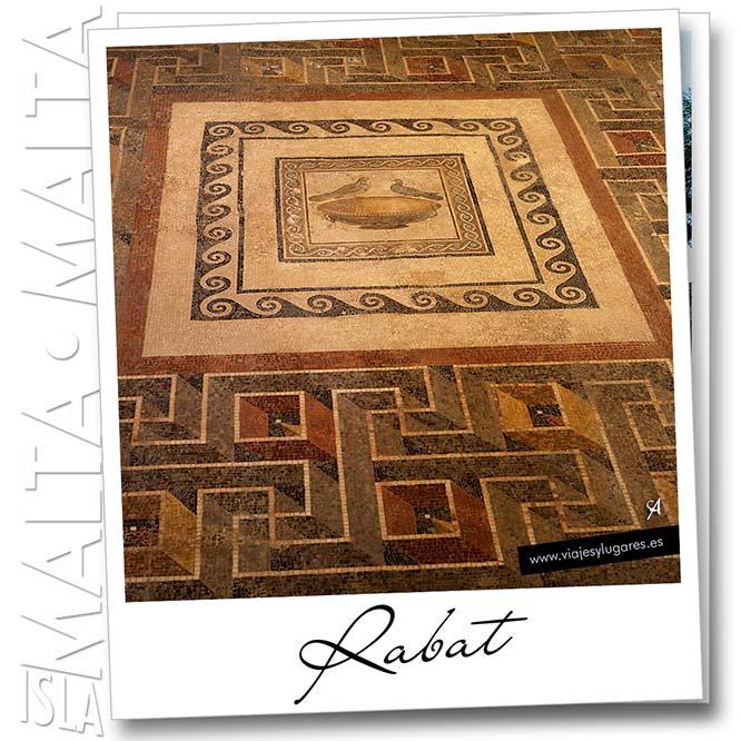 Domus romana. Rabat. Isla de Malta