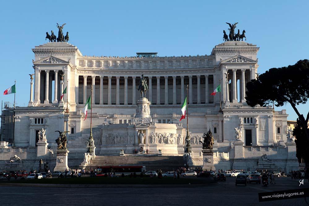 Altar de la Patria. Plaza Venecia