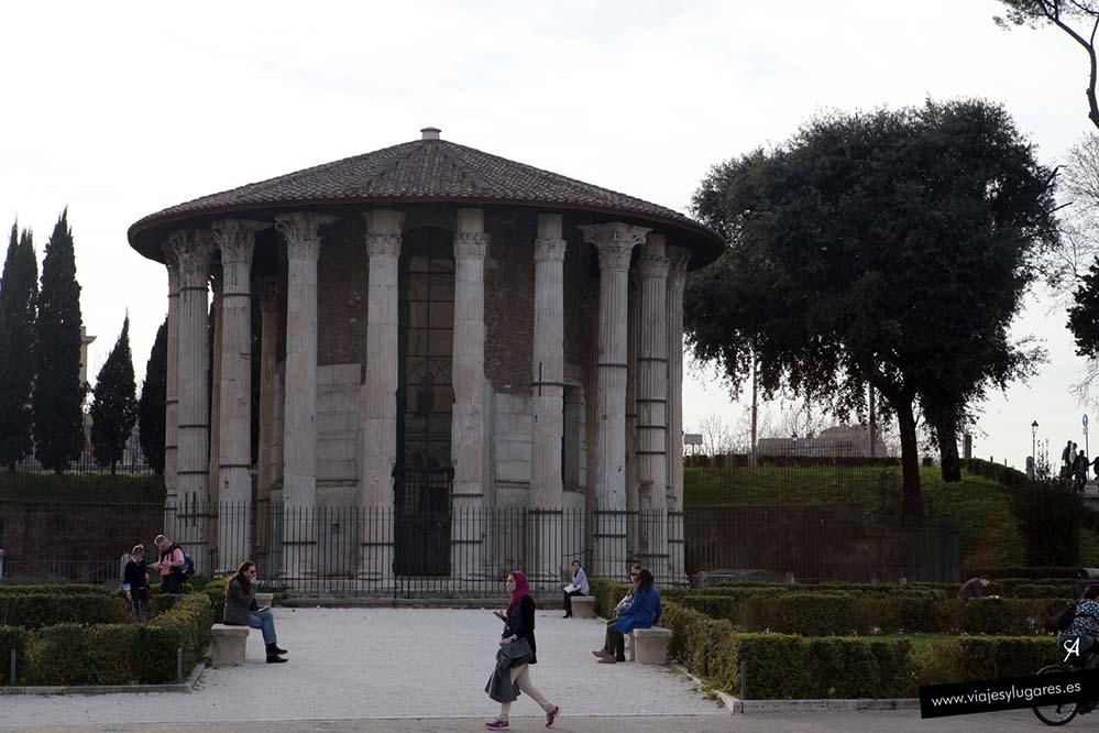 Templo de Hércules en el Foro Boario
