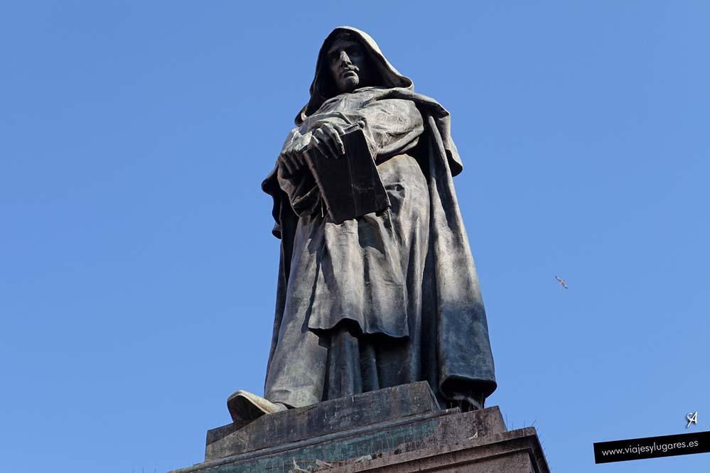 Giordano Bruno en el Campo de Fiori