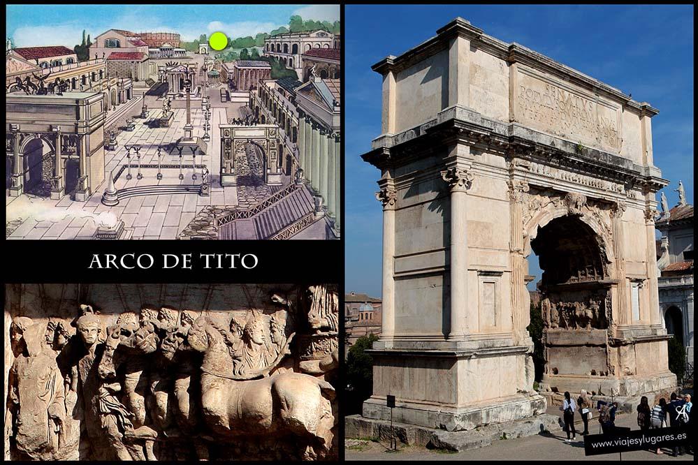 Foro romano. Roma. Italia