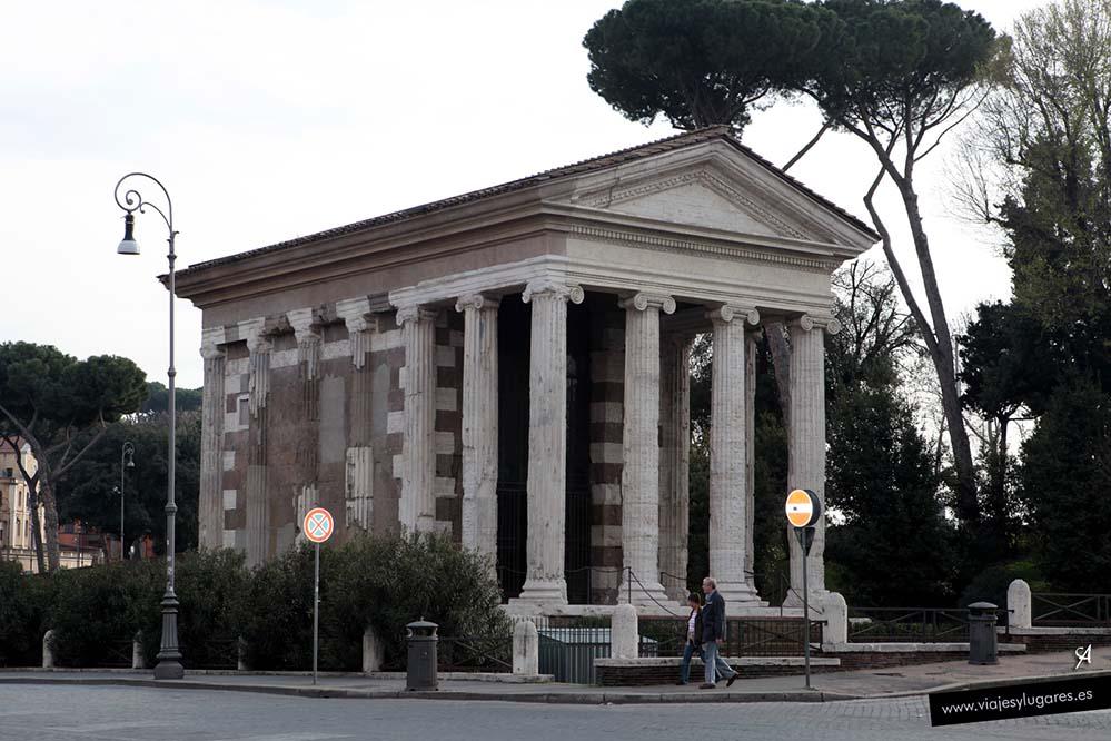 Templo de Portunus en Roma