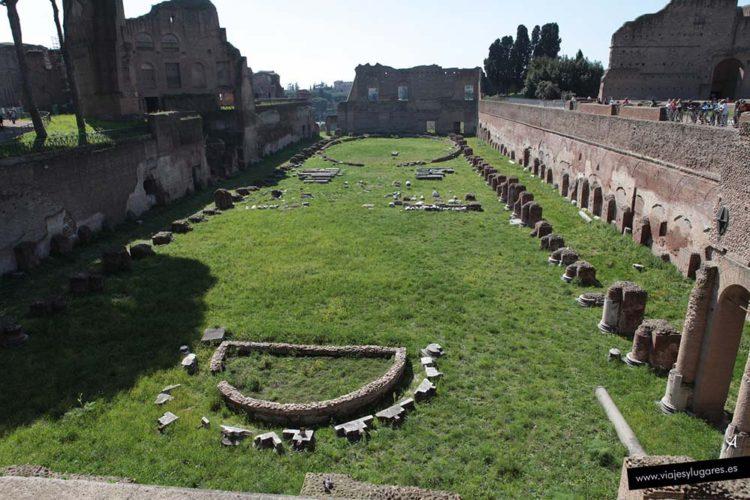 Palatino. Roma. Italia