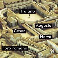 Foros Imperiales en Roma