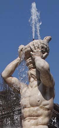 Fuente del Tritón. Roma