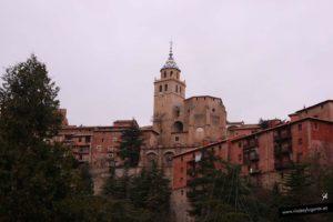 La catedral de San Salvador en Albarracín