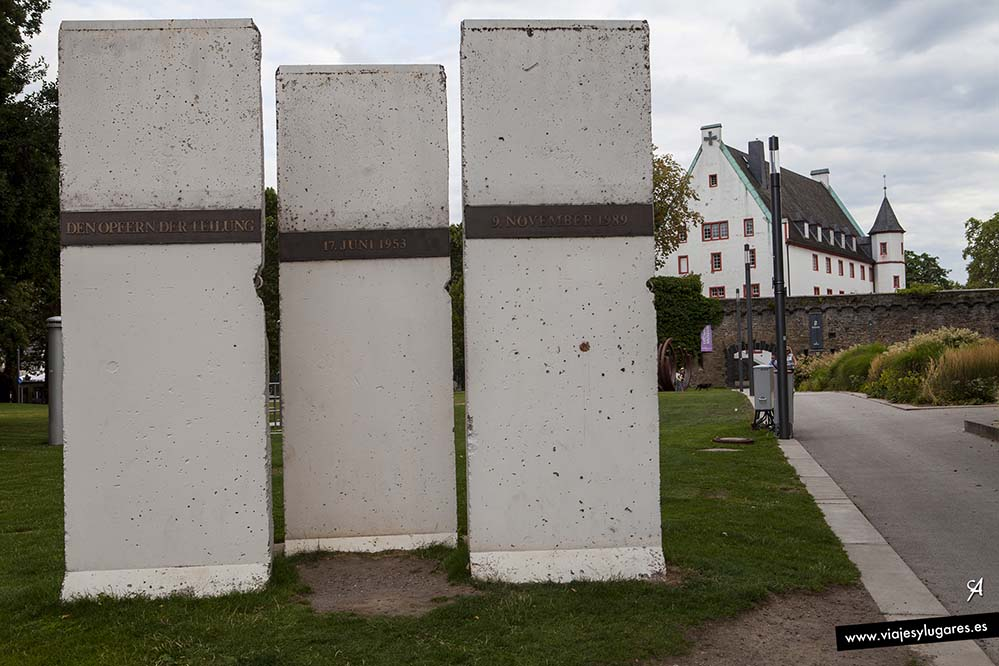 Muro de Berlín. Coblenza. Alemania