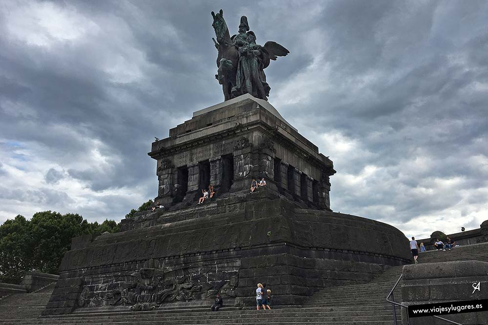 Emperador Guillermo I. Coblenza. Alemania