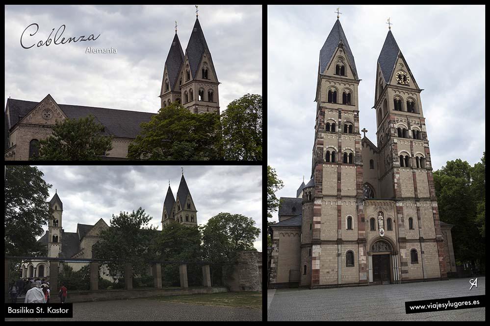 Basílica de San Castor. Coblenza. Alemania