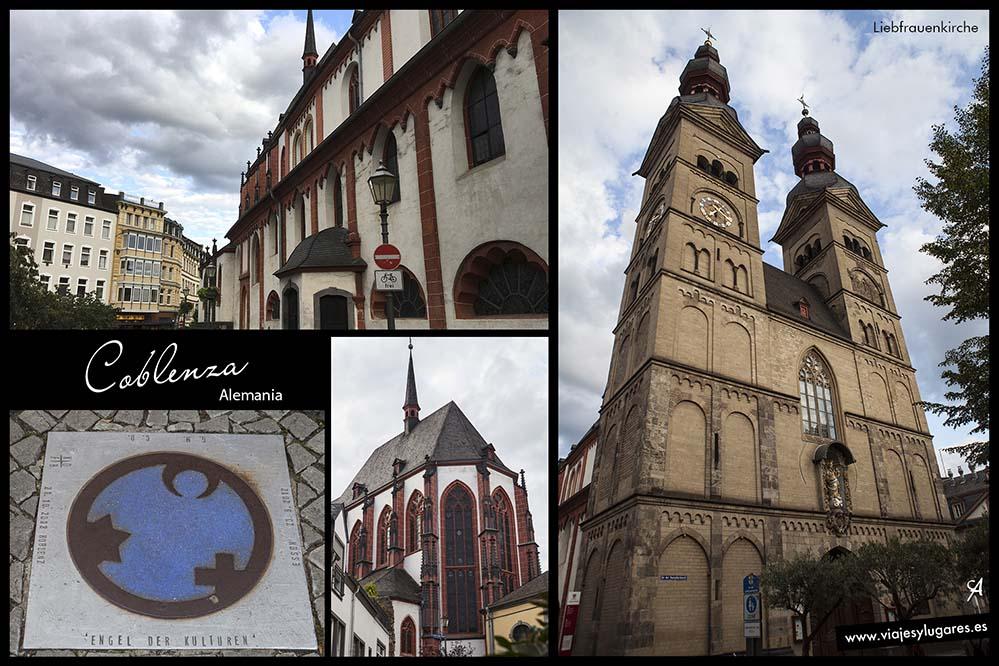 Liebfrauenkirche, iglesia de Nuestra Señora. Coblenza. Alemania