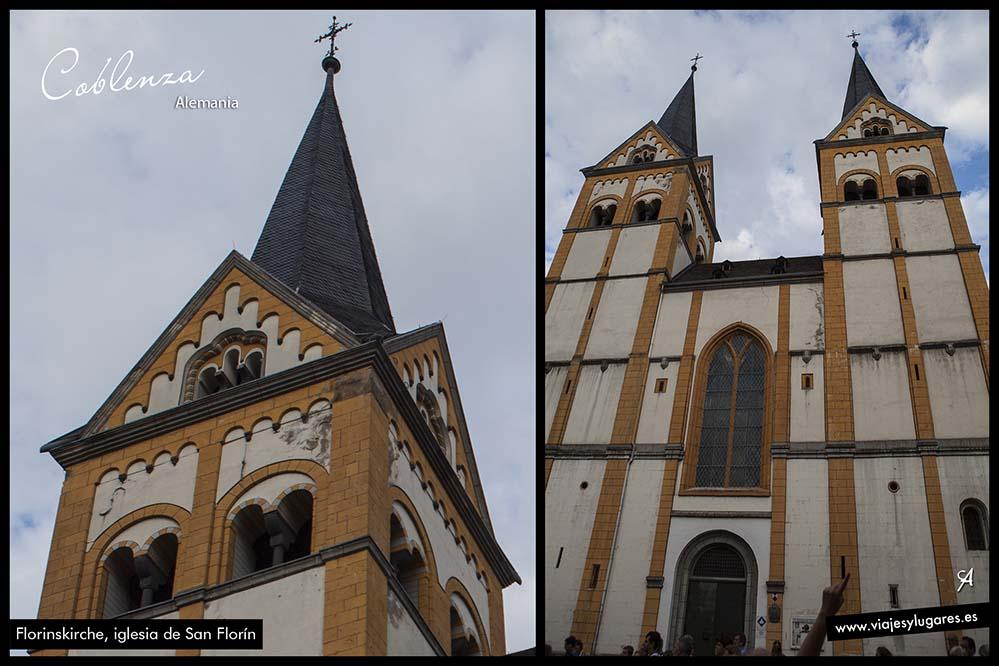Florinskirche, iglesia de San Florín. Coblenza. Alemania