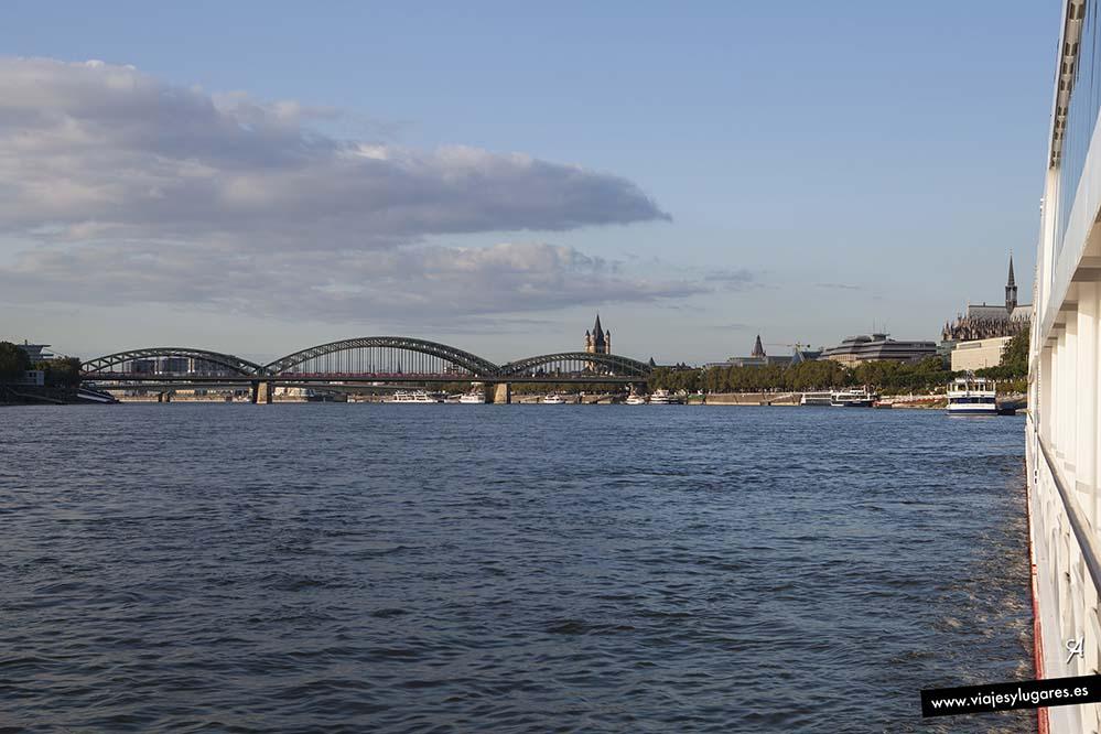 Puente de Hohenzollen. Colonia