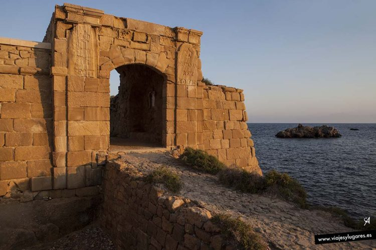 Puerta de la Trancada o de San Gabriel. Isla de Tabarca