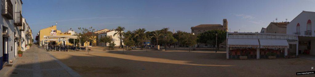 La Plaza Grande tiene un algibe debajo