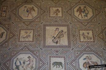 Mosaico romano de Dionisos