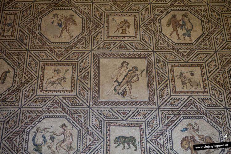 Mosaico de Dionisos. Colonia. Alemania