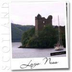 Lago Ness y Urquhart Castle