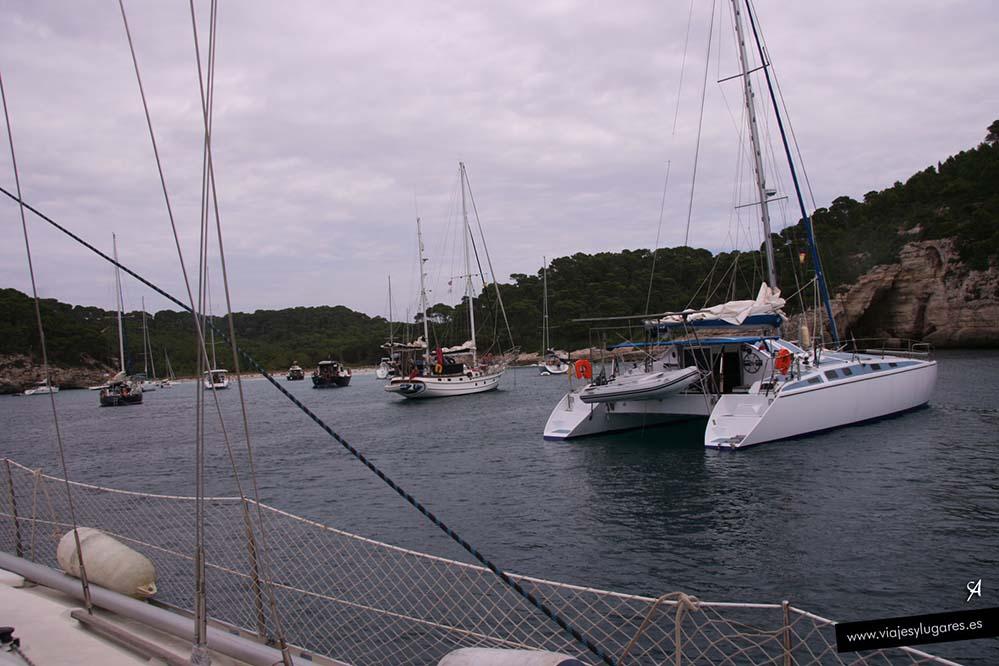 Cala Trebalúger en Menorca