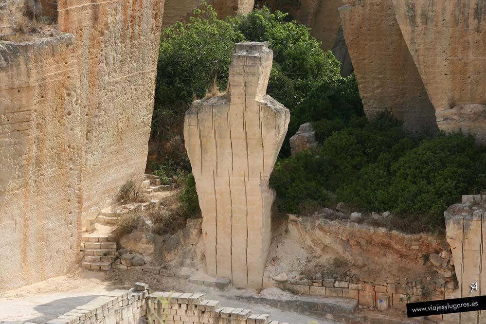 Cantera de s'Hostal en Menorca