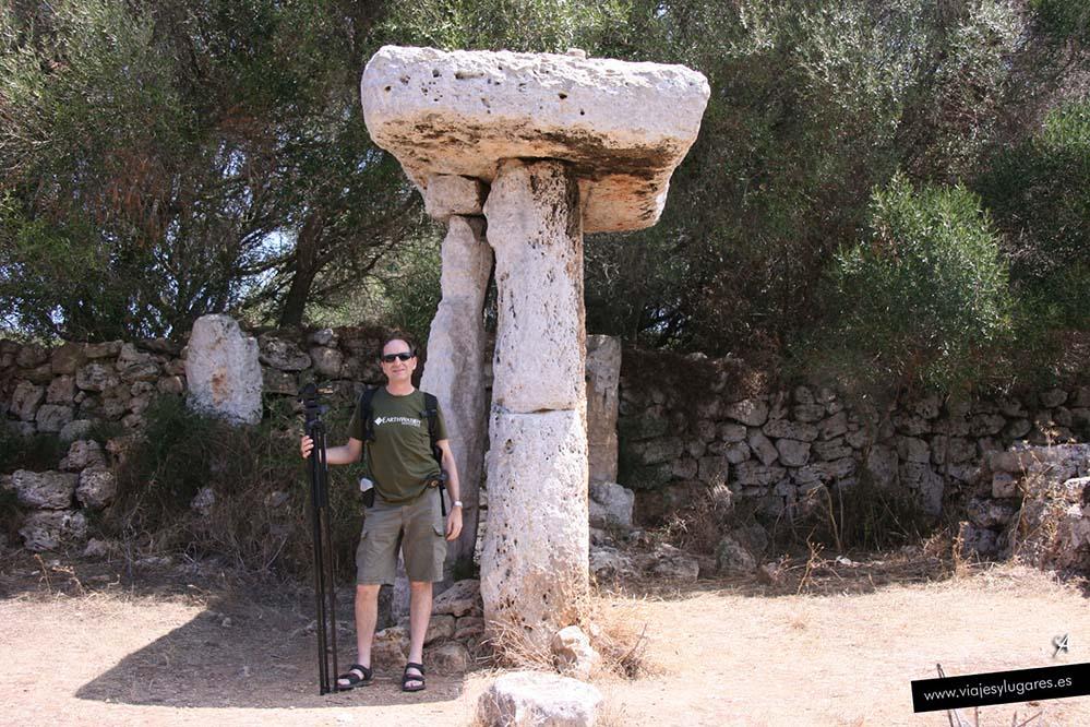 Torretrencada en Menorca