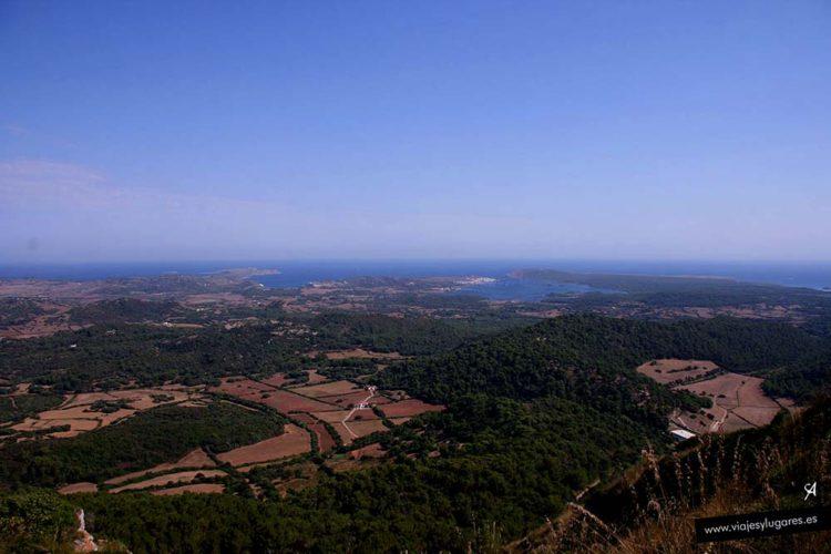 Monte Toro en Menorca